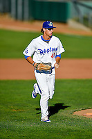 Mitchell Hansen (43) of the Ogden Raptors during the game against the Missoula Osprey in Pioneer League action at Lindquist Field on July 13, 2016 in Ogden, Utah. Ogden defeated Missoula 8-2. (Stephen Smith/Four Seam Images)