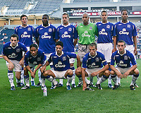 Everton FC team photo.  The Chicago Fire defeated English Premier League Team Everton FC 2-0 in a friendly match at Toyota Park in Bridgeview, IL, on July 30, 2008.