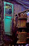Classic train photo.  Steam Engine and valve of anitque steam train.
