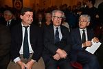 CARLO CALENDA CON LUIGI ZANDA E MASSIMO D'ALEMA