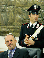 Michele Vietti eletto Vice Presidente del CSM.CSM - Consiglio Superiore della Magistratura (Plenum) .Nomina del Vice Presidente.Roma, 2 Agosto 2010.Photo Serena Cremaschi Insidefoto