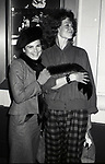 """Tovah Feldshuh and Sigourney Weaver attend a perfdormance of """"The Life and Adventures of Nicholas Nickleby"""" on October 10, 1981 at the Plymouth Theatre in New York City."""
