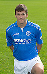 St Johnstone FC 2014-2015 Season Photocall..15.08.14<br /> Adam Morgan<br /> Picture by Graeme Hart.<br /> Copyright Perthshire Picture Agency<br /> Tel: 01738 623350  Mobile: 07990 594431