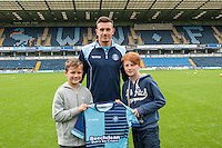 Will De Havilland of Wycombe Wanderers during the Wycombe Wanderers 2016/17 Team & Individual Squad Photos at Adams Park, High Wycombe, England on 1 August 2016. Photo by Jeremy Nako.