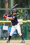 #23 Nozomi Abe of Japan bats during the BFA Women's Baseball Asian Cup match between South Korea and Japan at Sai Tso Wan Recreation Ground on September 2, 2017 in Hong Kong. Photo by Marcio Rodrigo Machado / Power Sport Images