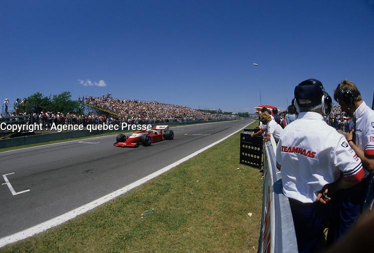 Grand Prix Labatt de Montreal, 1986<br /> <br /> photo (c) Agence Quebec Presse - Denis Alix