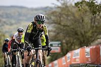 Lucy Kennedy (AUS/Mitchelton-Scott) up the Cote de la Redoute<br /> <br /> 4th Liège-Bastogne-Liège-Femmes 2020 (1.WWT)<br /> 1 Day Race: Bastogne – Liège 135km<br /> <br /> ©kramon