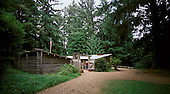 Fort Clatsop in the forest