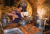 """Europe/France/2A/Corse du Sud/Ajaccio: Jean-Jean  restaurant """"Le Bilboq"""" , restaurant spécialisé dans la langouste"""