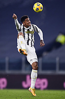 3rd January 2021, Allianz Stadium, Turin Piedmont, Italy; Serie A Football, Juventus versus Udinese;  Danilo Luiz da Silva controls the high ball
