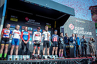 Podium:<br /> <br /> 7 races = 7 winners<br /> <br /> 82nd Gent – Wevelgem in Flanders Fields 2019 (1.UWT)<br /> Deinze – Wevelgem: 251,5km<br /> ©kramon