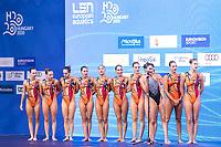 Gala<br /> Artistic Swimming<br /> Budapest  - Hungary  15/5/2021<br /> Duna Arena<br /> XXXV LEN European Aquatic Championships<br /> Photo Pasquale Mesiano / Deepbluemedia / Insidefoto