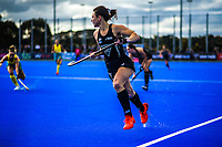 NZ's Kelsey Smith in action during the Sentinel Homes Trans Tasman Series hockey match between the New Zealand Black Sticks Women and the Australian Hockeyroos at Massey University Hockey Turf in Palmerston North, New Zealand on Sunday, 30 May 2021. Photo: Dave Lintott / lintottphoto.co.nz