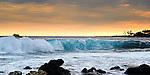Surfs up in Kona, HI