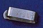 X-188 Hawaiian Tag  Found In Mexico