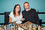 Amanda and Richard O'Neill enjoying the evening in Croi on Sunday