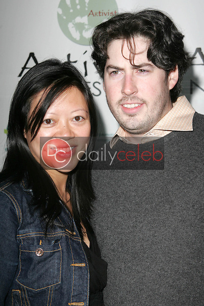 """Michele Lee and Jason Reitman<br />at the Los Angeles Premiere of """"Fast Food Nation"""". Egyptian Theater, Hollywood, CA. 11-10-06<br />Dave Edwards/DailyCeleb.com 818-249-4998"""