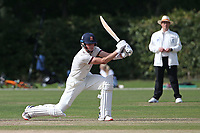 Ben Allison in batting action for Brentwood during Brentwood CC vs Wanstead and Snaresbrook CC, Essex Cricket League Cricket at The Old County Ground on 12th September 2020