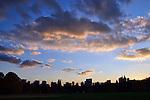 Central Park at sundown