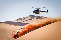4th January 2021; Dakar Rally stage 2;  #311 Roma Nani (esp), Winocq Alexandre (fra), Hunter, Bahrain Raid Extreme, BRX, Auto, action during the 2nd stage of the Dakar 2021 between Bisha and Wadi Al Dawasir, in Saudi Arabia on January 4, 2021