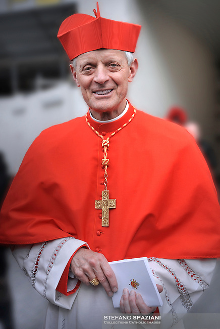 cardinal Donald William Wuerl (R) of the United States, during the mass in St. Peter' Basilica, in the Vatican on 21 November 2010. Pope Benedict XVI installed 24 newly appointed cardinals at St Peter's basilica at the Vatican, on 21 November 2010.
