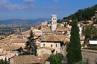 Italien, Umbrien, Altstadt von Assisi