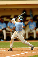 North Carolina Tar Heels' OF Mike Cavasinni in action vs. the Boston College Eagles  at Shea Field May 16, 2009 in Chestnut Hill, MA (Photo by Ken Babbitt/Four Seam Images)