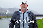 Paul Murphy from Ashgrove, enjoying a stroll in Blennerville on Saturday o