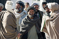 POM354 Kanadahar Jirga. Kandahar City. 11-2-2010. The POM354 charity organises a tribal jirga in Kandahar to present its project to approximately 5,600 tribal elders. The jirga was addressed by many local tribal elders and also James Brett (CEO and founder of POM354), Lord Reading (patron of POM354), Babrak Shinwari (Afghan MP) and Wali Karzai (brother of Afghan president).