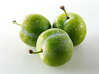 Fresh Greengage plums