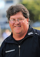 Coach Mark Borthwick. Wellington Blaze headshots at Allied Nationwide Basin Reserve, Wellington on Thursday, 9 December 2010. Photo: Dave Lintott / lintottphoto.co.nz