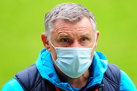 Tony Mowbray Manager of Blackburn Rovers prior to kick off for the Sky Bet Championship match between Swansea City and Blackburn Rovers at the Liberty Stadium in Swansea, Wales, UK. Saturday 31 October 2020