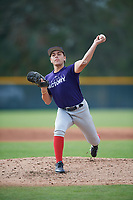 Carlos Vidal (61), from Ochlockonee Bay, Florida, while playing for the Rockies during the Baseball Factory Pirate City Christmas Camp & Tournament on December 30, 2017 at Pirate City in Bradenton, Florida.  (Mike Janes/Four Seam Images)