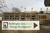 The Beddington Zero Energy Development (BedZED) in the London Borough of Sutton.  BedZED, the UK's largest carbon-neutral eco-community, comprises 82 mixed tenure housing units, managed by the Peabody Trust, and north-facing offices.
