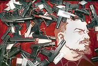- EXA (Expo Armi), small arms and light weapons exhibition at Brescia fair, Soviet built Tokarev automatic pistols<br /> <br /> - EXA (Expo Armi), salone delle armi leggere alla fiera di Brescia, pistole automatiche Tokarev di produzione sovietica