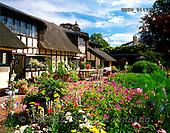 Tom Mackie, FLOWERS, photos, Thatch Cottage & Garden, Dedham, Essex, England, GBTM944720-1,#F# Garten, jardín