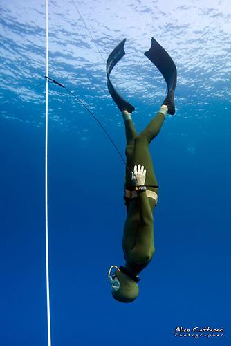 Irish Free diver Dave McGowan
