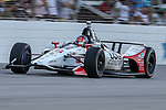 Andretti Herta Autosport with Curb-Agajanian driver Marco Andretti (98) of United States in action during the DXC Technology 600 race at Texas Motor Speedway in Fort Worth,Texas.
