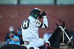 March 6, 2021: Will's Secret (2) with jockey Jon Court aboard after winning the Honeybee Stakes (G3) at Oaklawn Racing Casino Resort in Hot Springs, Arkansas on March 6, 2021. Justin Manning/Eclipse Sportswire/CSM