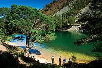 An Lochan Uaine, The Green Lochan, Glen More, Aviemore, Cairngorm National Park, Highland