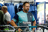 The new Wycombe Wanderers' home kit is popular during the 2016/17 Kit Launch of Wycombe Wanderers to the public at Adams Park, High Wycombe, England on 10 July 2016. Photo by David Horn.