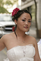 Montreal (Qc) Canada - June 17 2009 -<br /> <br /> Model Released photos - Wedding dresses