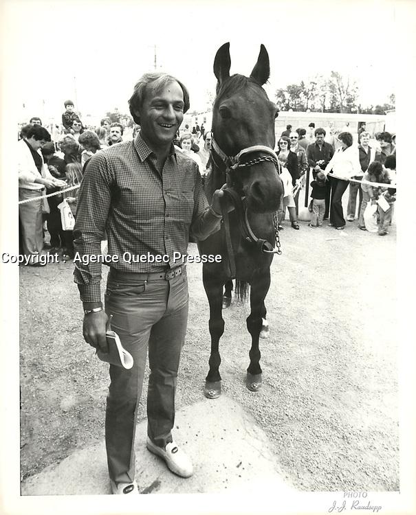 Photos d'archives de Guy Lafleur, 15 juin 1980<br /> <br /> PHOTO : Agence Quebec Presse