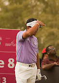 KJ Choi in action during the opening round of the  2012 Commercial Bank Qatar Masters being played over the Championship Course at Doha Golf Club, Doha, Qatar from 2nd to 5th February 2012. Picture Stuart Adams www.golftourimages.com: 2nd February 2012