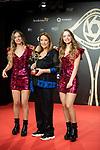 "Twin Melody and  Toñi Moreno attends ""Iris Academia de Television' awards at Nuevo Teatro Alcala, Madrid, Spain. <br /> November 18, 2019. <br /> (ALTERPHOTOS/David Jar)"