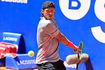 24th April 2019, Real Club de Tenis, Barcelona, Spain; ATP 500, Barcelona Open Banc Sabadell, day 3; picture show Lucas Pouille (FRA) vs David Ferrer (ESP)