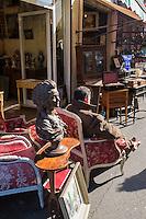France, Seine-Saint-Denis (93), Saint-Ouen, Le marché aux Puces- le Marché Paul Bert, //  France, Seine Saint Denis, Saint Ouen flea market Market Paul Bert,