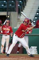 March 7 2010: Brandon Garcia of USC during game against University of New Mexico at Dedeaux Field in Los Angeles,CA.  Photo by Larry Goren/Four Seam Images