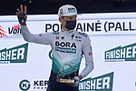 Lennard Kamna (GER) Bora-Hansgrohe wins Stage 4 of the 100th edition of the Volta Ciclista a Catalunya 2021, running 166.5km from Ripoll to Port Aine, Spain. 25th March 2021.   <br /> Picture: Bora-Hansgrohe/Luis Angel Gomez/BettiniPhoto | Cyclefile<br /> <br /> All photos usage must carry mandatory copyright credit (© Cyclefile | Bora-Hansgrohe/Luis Angel Gomez/BettiniPhoto)