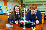Shane Brennan and and Rachel O'Brien Pobalscoil Inbhear Scéine  project is Would taking regular mental health days benefit students